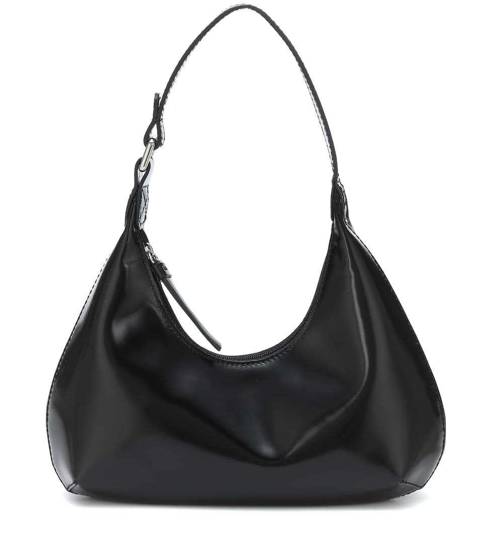 Baby Amber patent leather shoulder bag by BY FAR, available on mytheresa.com for $503 Kendall Jenner Bags Exact Product