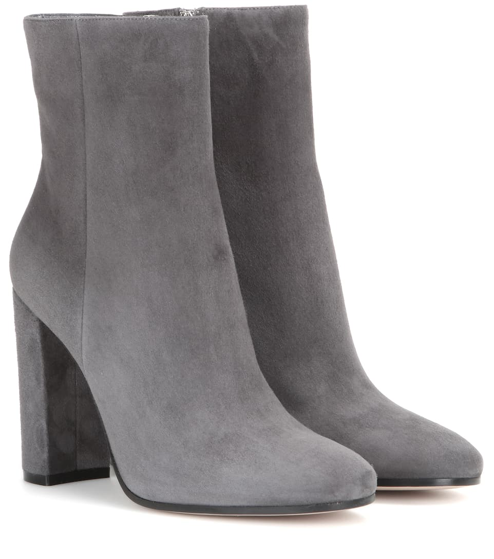 gianvito rossi rolling suede ankle boots. Black Bedroom Furniture Sets. Home Design Ideas