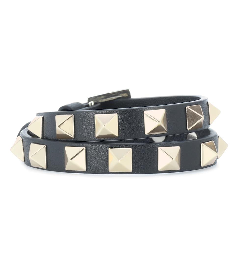 Valentino En Cuir RockstudMytheresa N° Bracelet Artnbsp;p00186144 Garavani com L354ARj