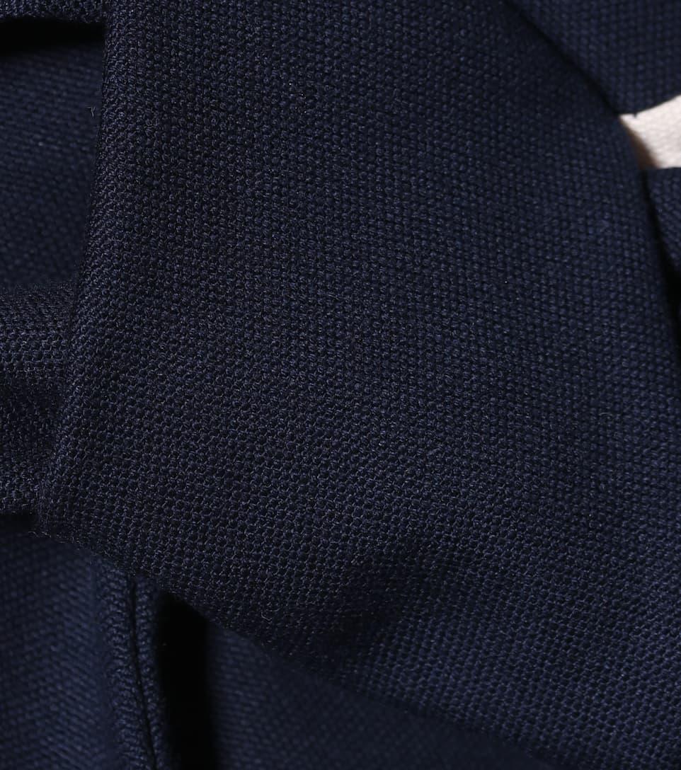 Delpozo Minikleid aus Baumwolle