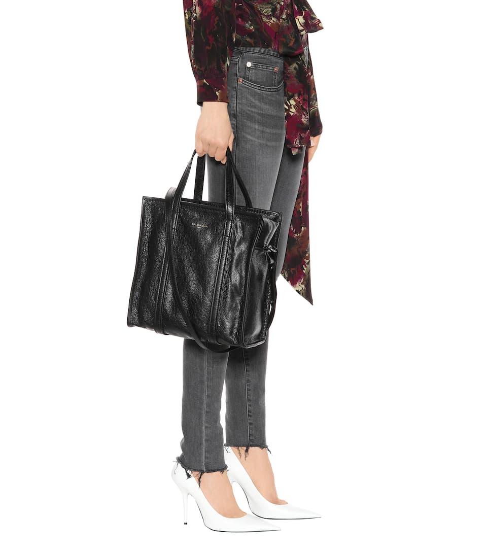 Balenciaga Shopper Bazar S aus Leder