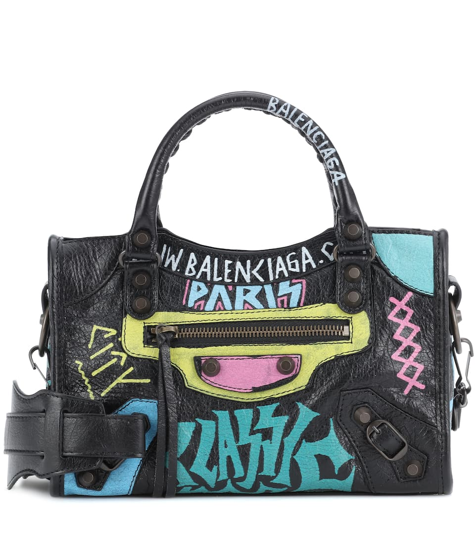 balenciaga mini city graffiti
