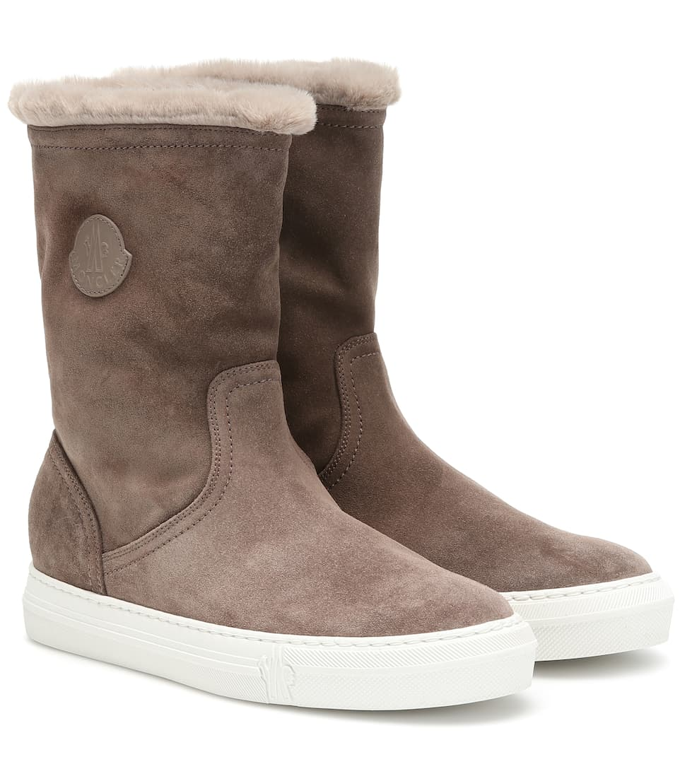 Moncler Stivaletti Arabelle in suede