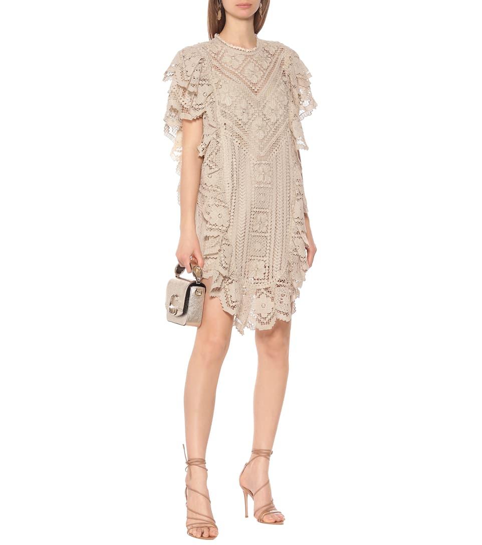 Zanetti Crocheted Cotton Minidress - Isabel Marant