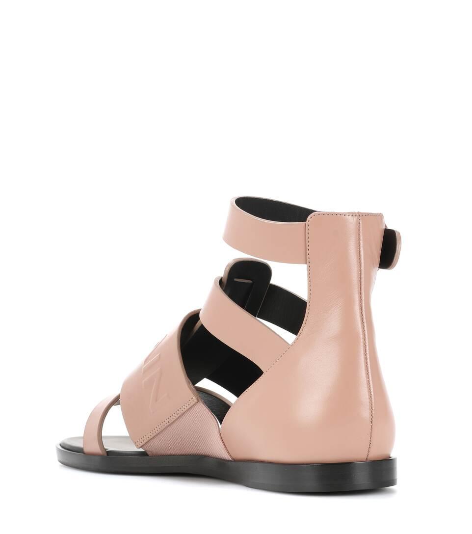 Balmain Sandalen aus Leder