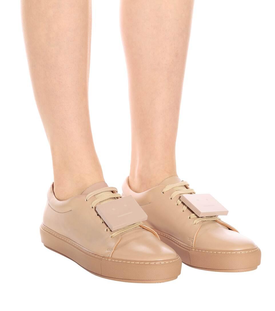 Acne Studios Sneakers Adriana TurnUp aus Leder Beliebt Freies Verschiffen 100% Authentisch Outlet Limitierte Auflage ss7YriC0