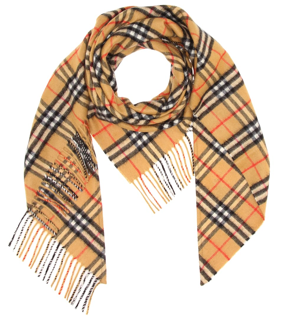 80c1f3564efb Burberry - Vintage Check cashmere scarf