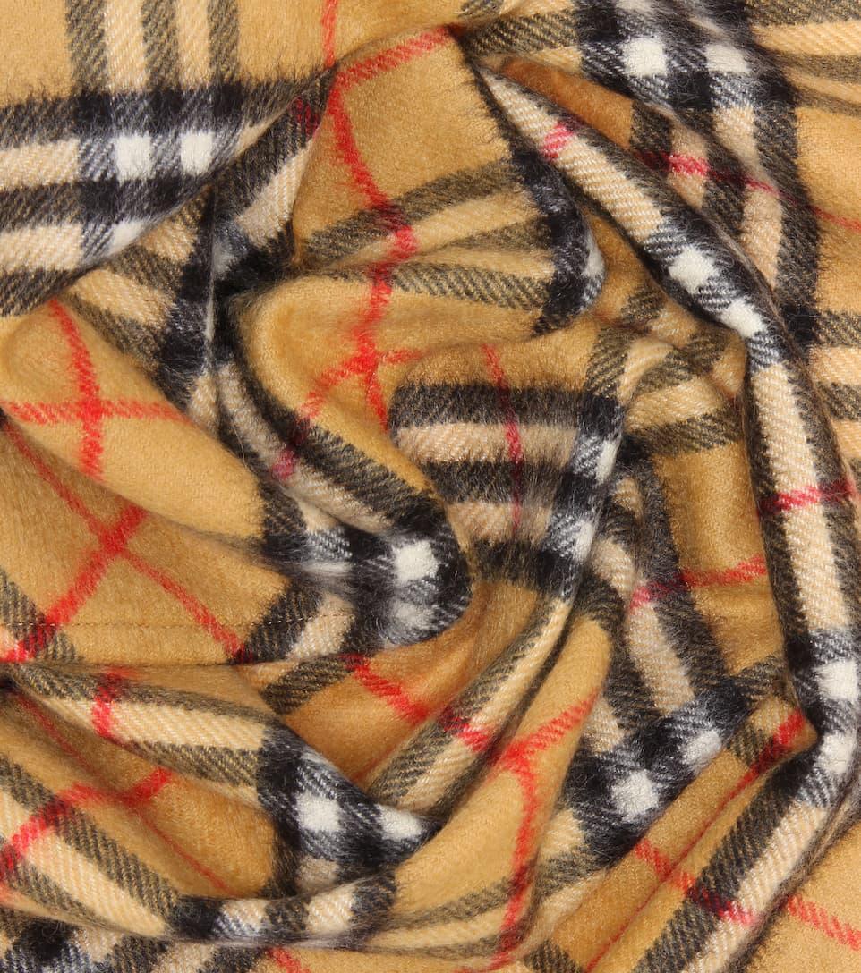 Écharpe En Cachemire Vintage Check - Burberry