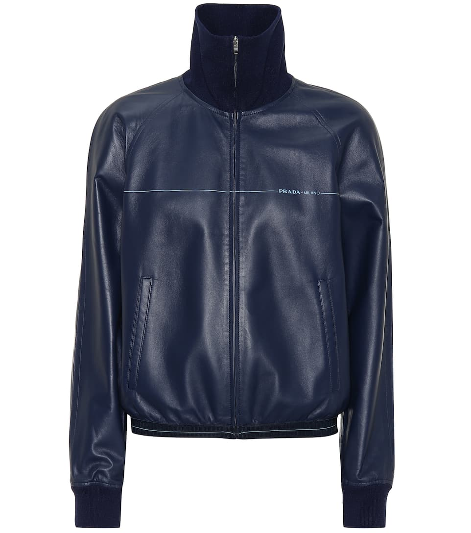 Leather Jacket - Prada  4f6a5629e
