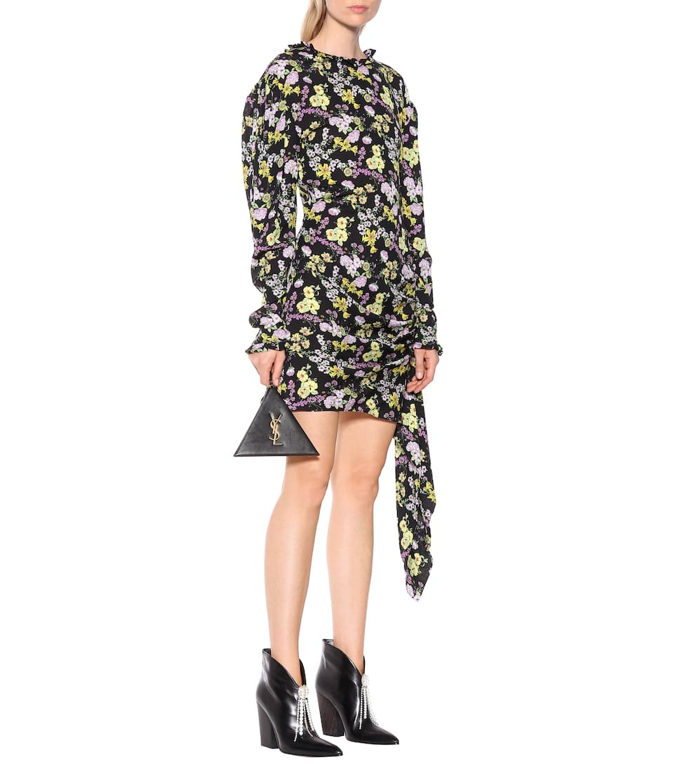 MAGDA BUTRYM Clothing TORRANCE FLORAL SILK DRESS
