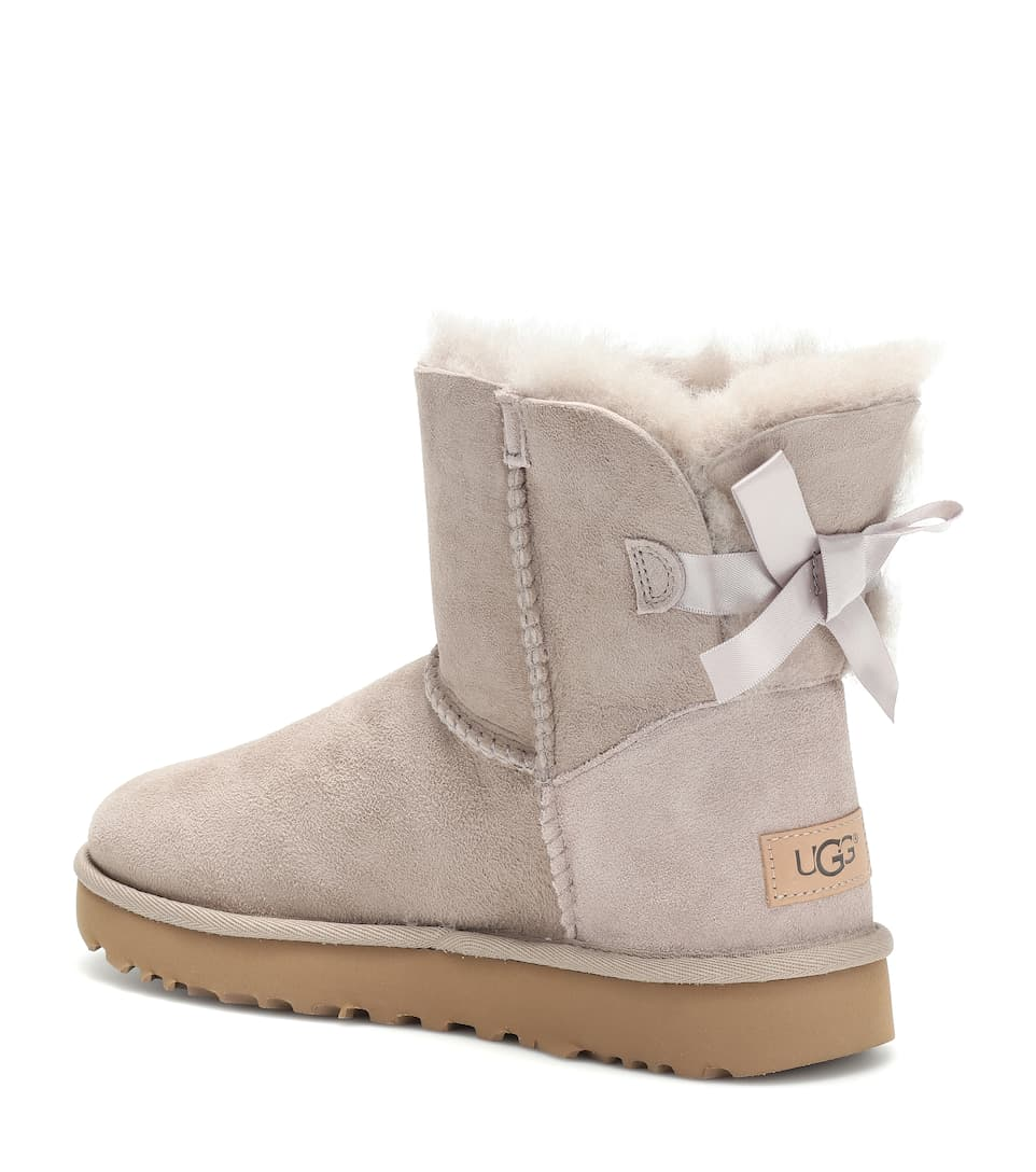 ee4a6068b95 Mini Bailey Bow II suede boots