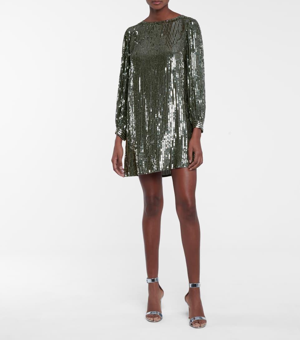 Sequin A Line Dress
