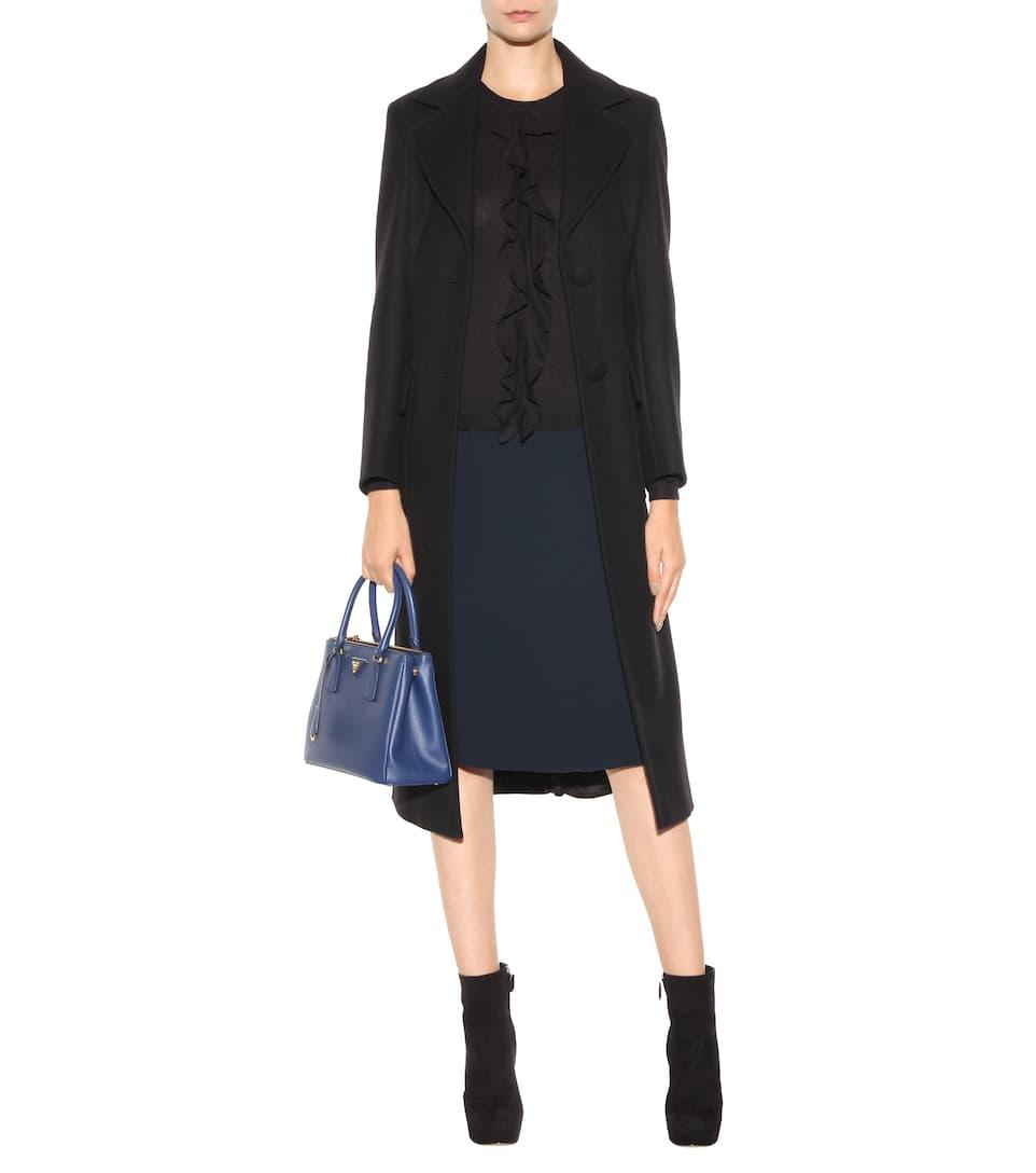Prada Shoulder Bag Galleria Small From Saffiano Leather