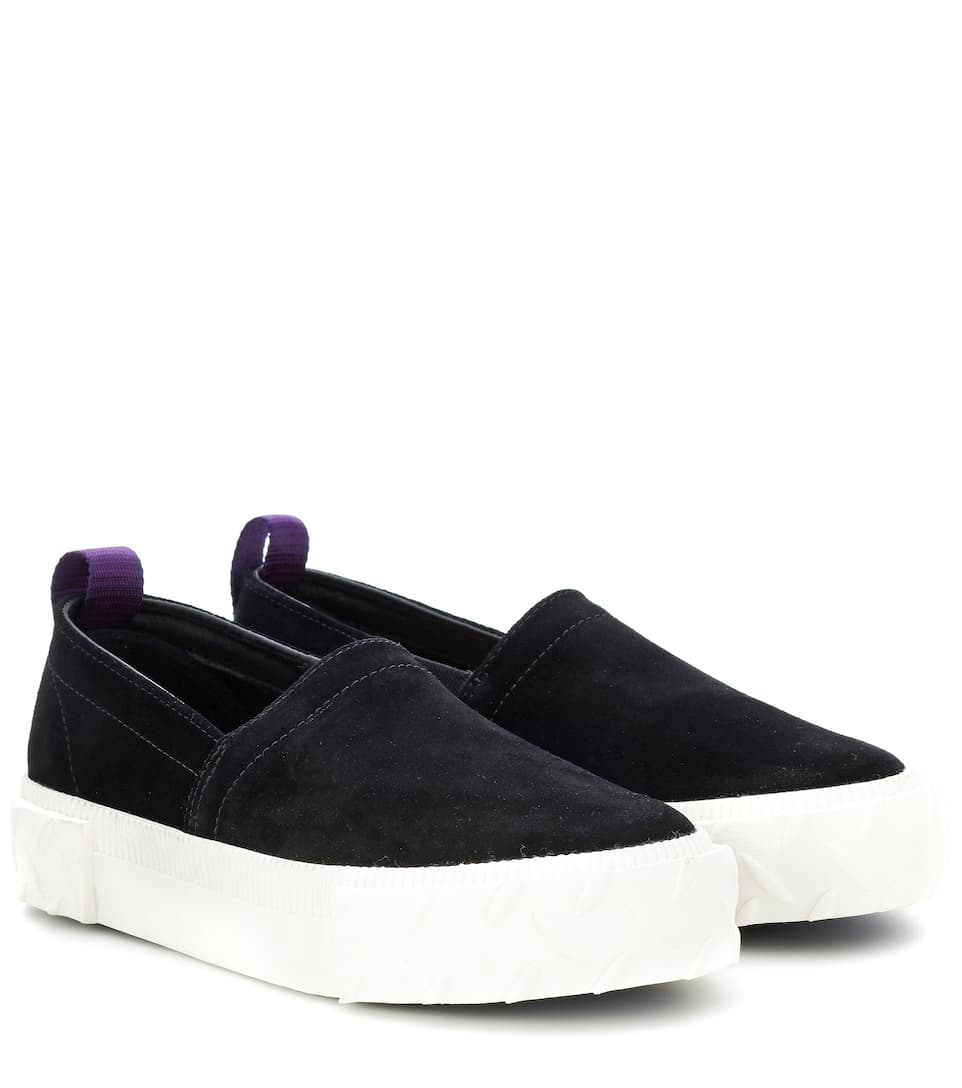 Eytys Slip On Viper Baskets Daim Mytheresa En qqT5rwxC