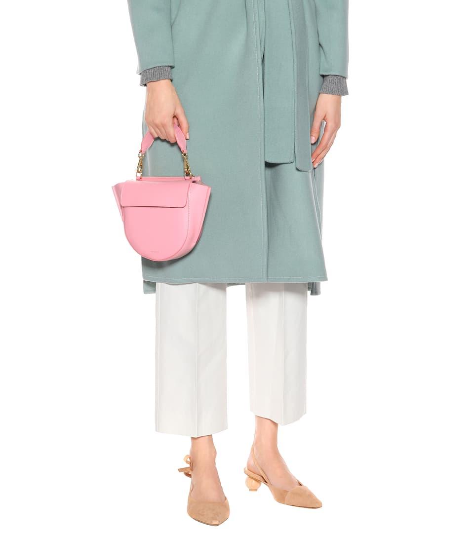 Wandler Schultertasche Hortensia Mini aus Leder