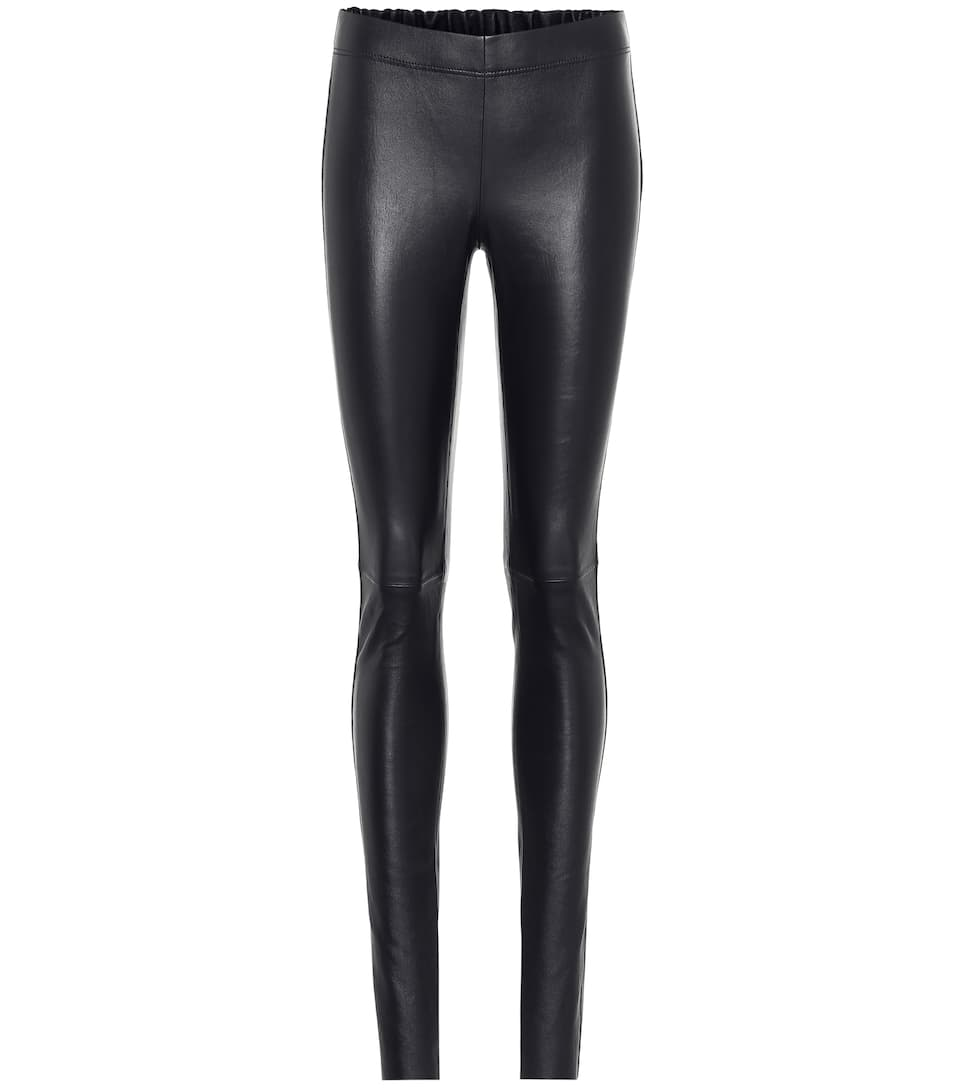 Stretch Leather Leggings by Joseph