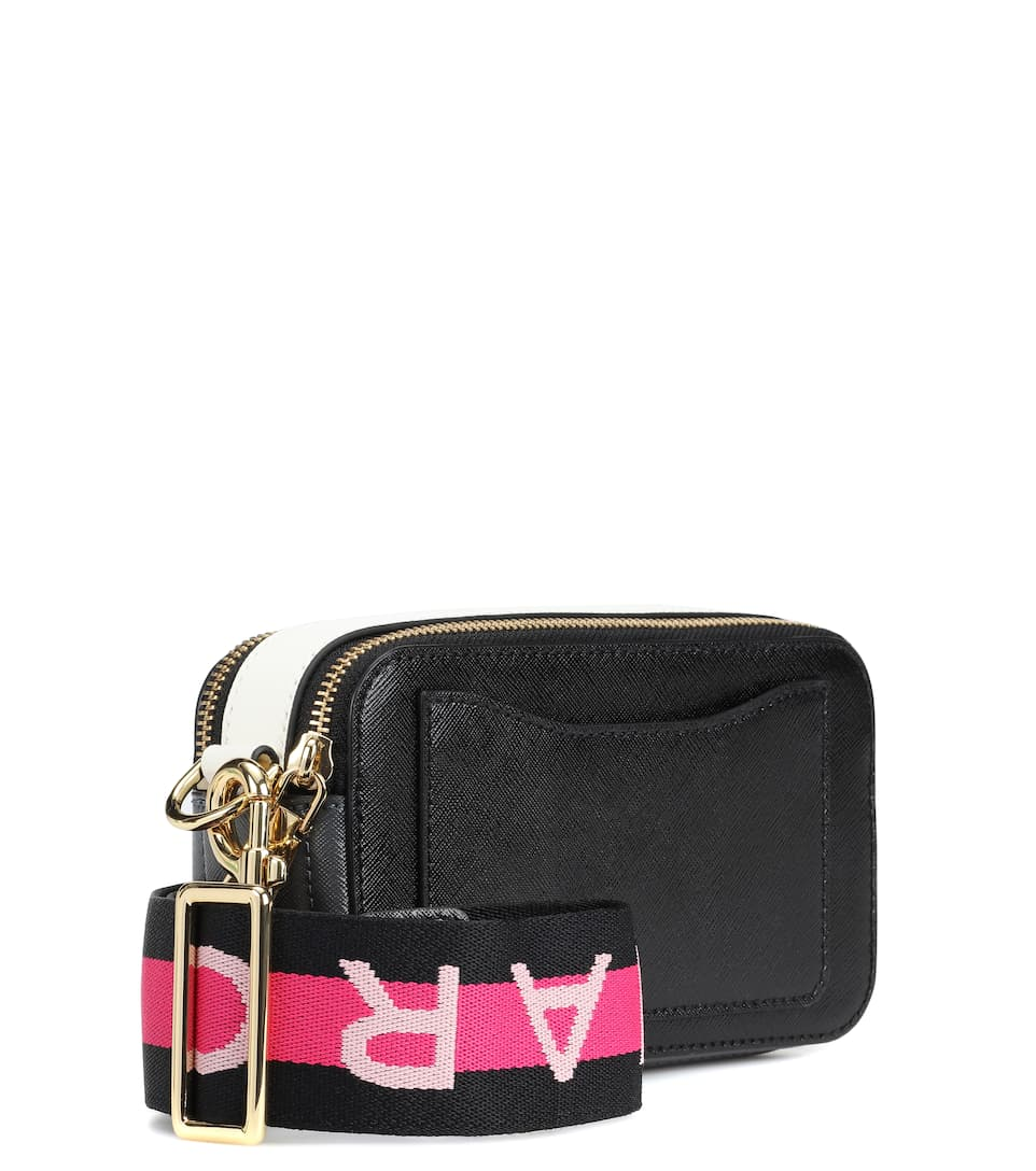 In Tracolla Small Marc Borsa Jacobs Pelle A Snapshot T1JlFcK