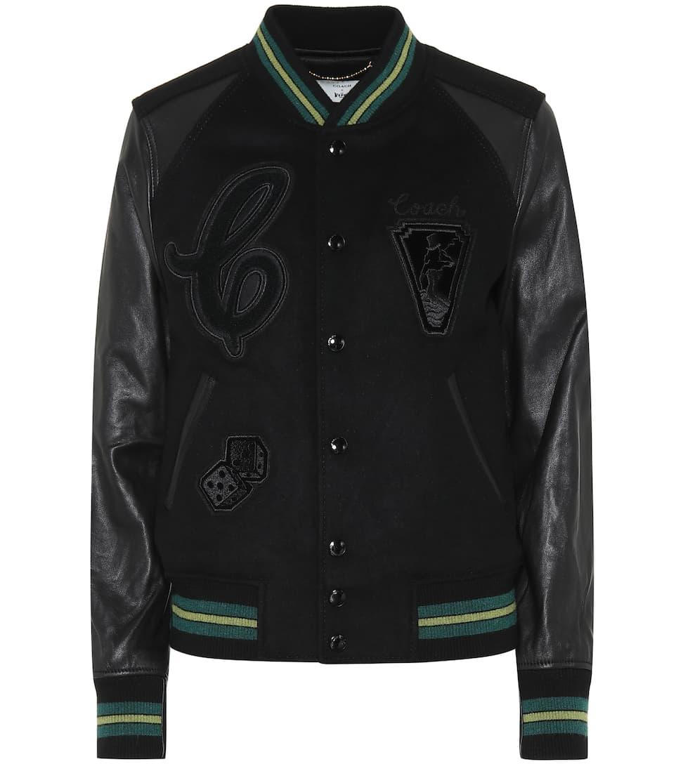 ca2196ed8 Coach - Wool-blend bomber jacket | Mytheresa