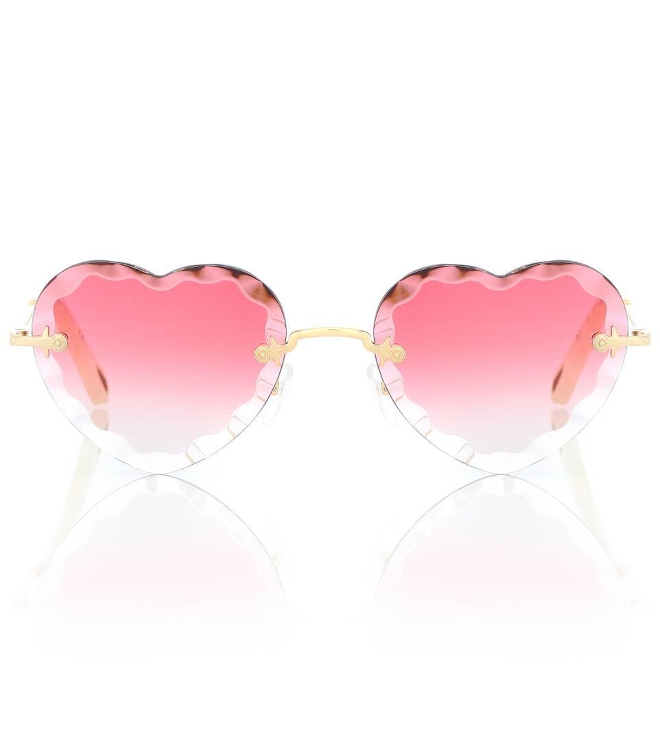 894e72d5df Heart-Shaped Sunglasses - Chloé