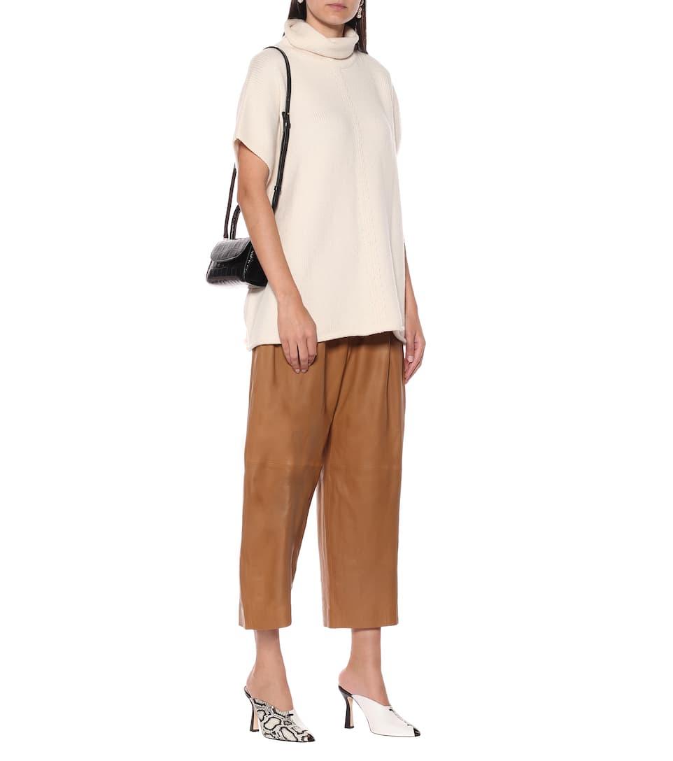 Shopper Mini In Pelle A Stampa - By Far