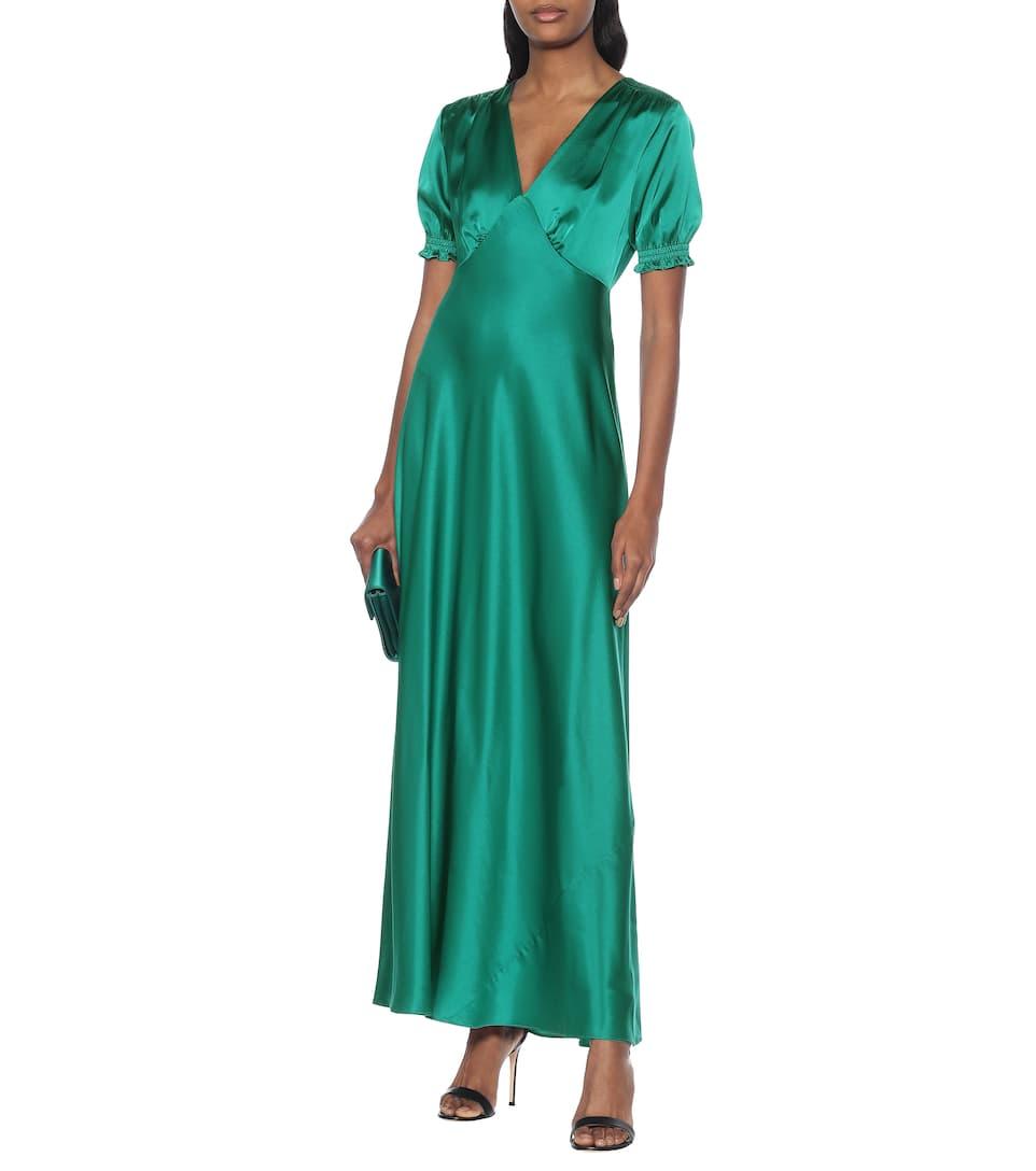Diane von Furstenberg - Idris satin gown