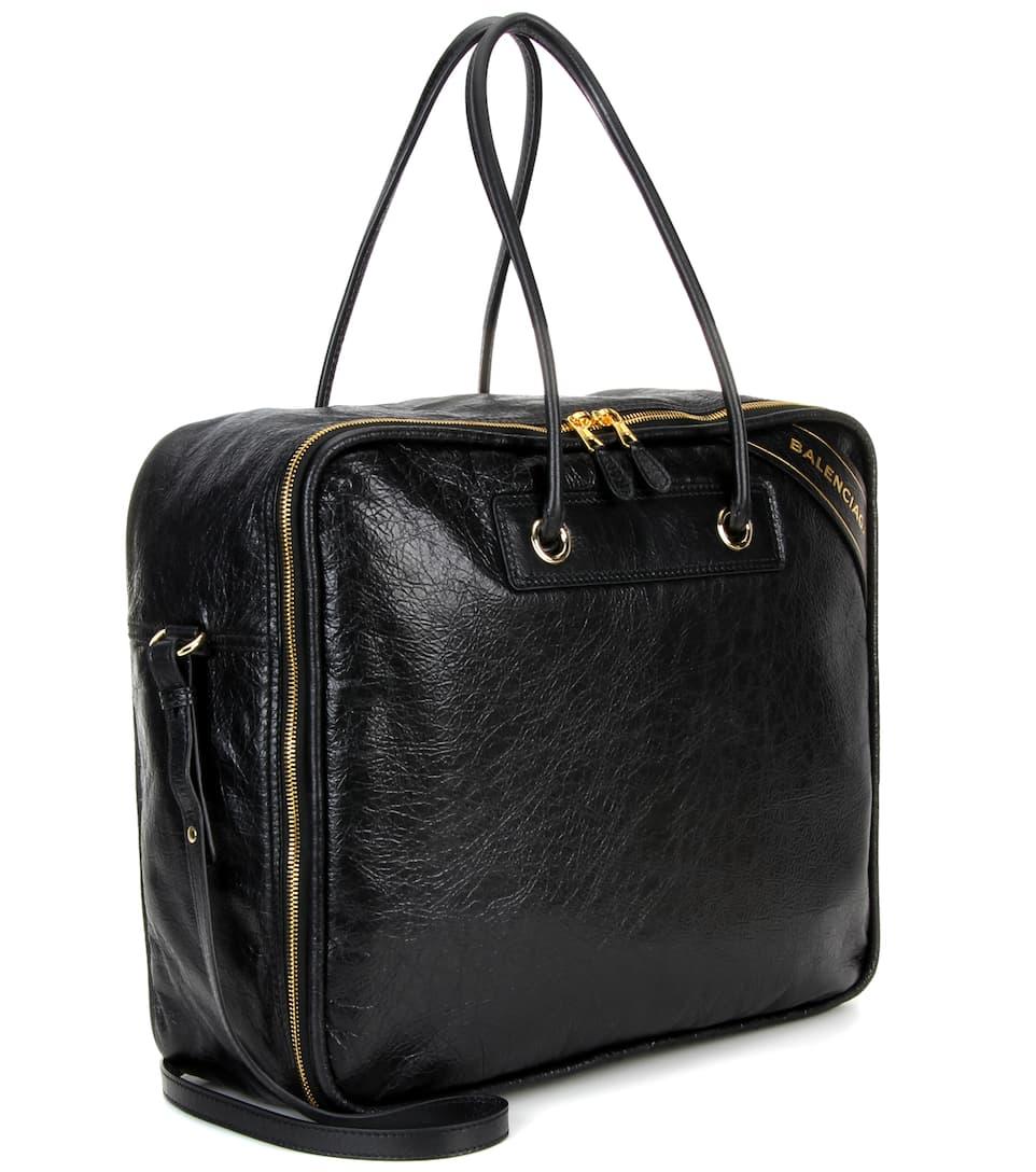 Vorbestellung Balenciaga Tasche Blanket Square M aus Lammleder Auslass Für Billig Billig Verkauf Besuch Neu OquxbVi