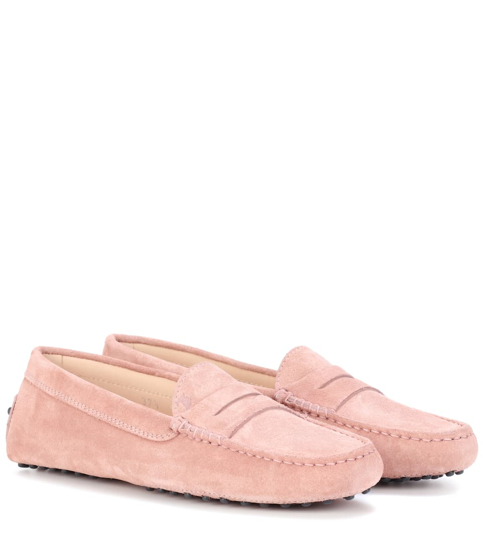 Tod's Loafers Gommino aus Veloursleder