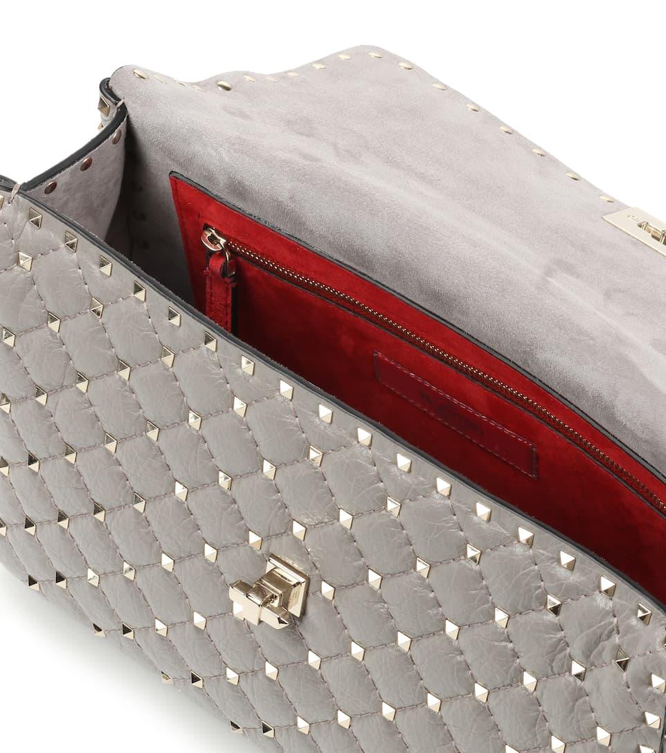 Valentino Valentino Garavani Schultertasche Rockstud Spike Large