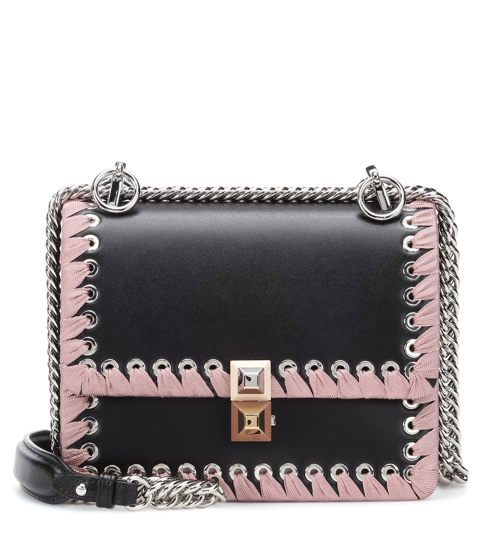 ffb50fc825d6 Kan I Small Leather Shoulder Bag - Fendi