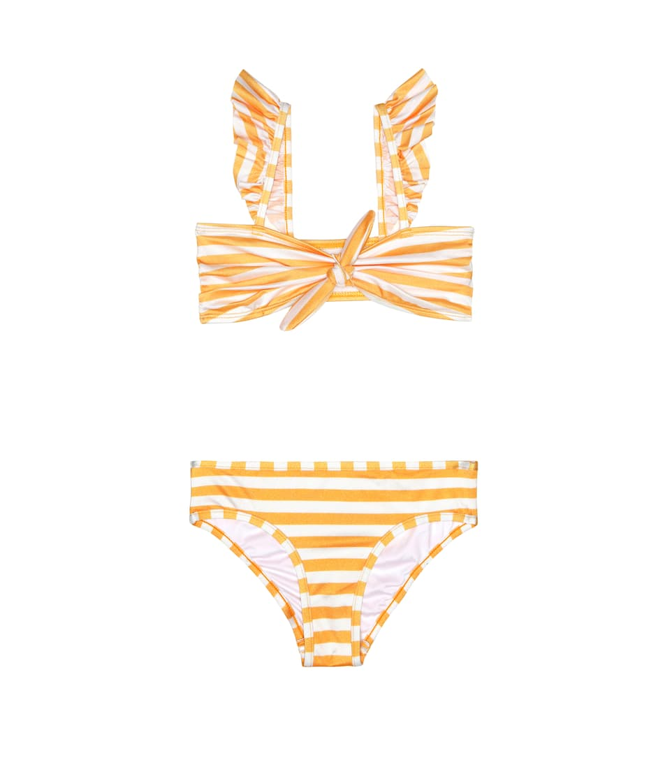 0b8ff79c0cc02 Zimmermann Kids - Allia striped bikini | Mytheresa