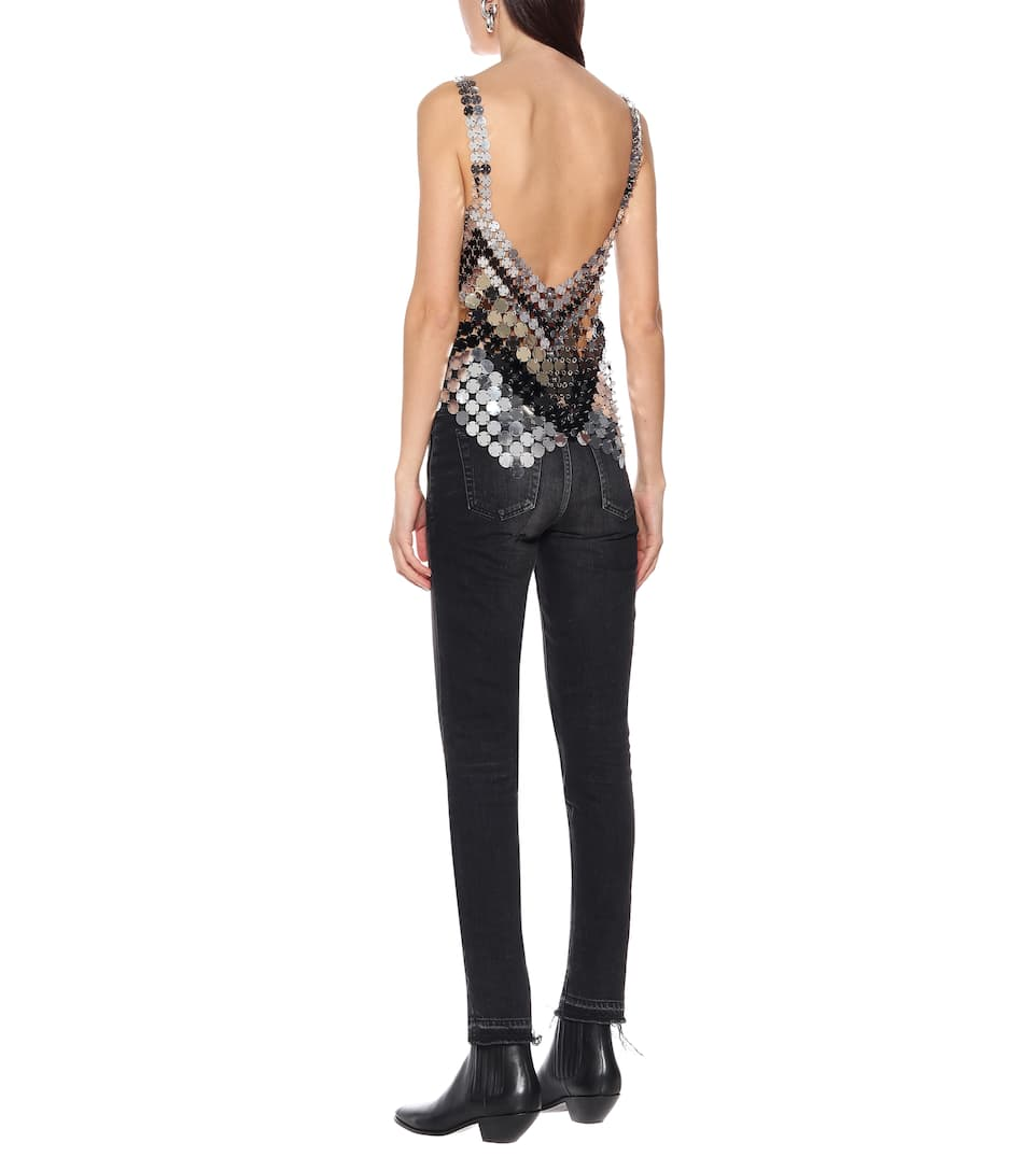 Paco Rabanne - Sequined top