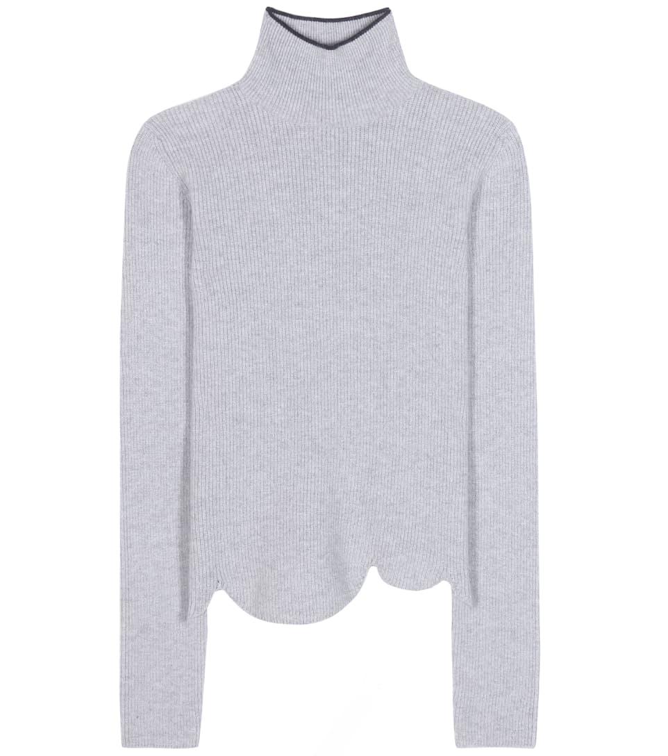 Marni Virgin wool and angora-blend turtleneck sweater