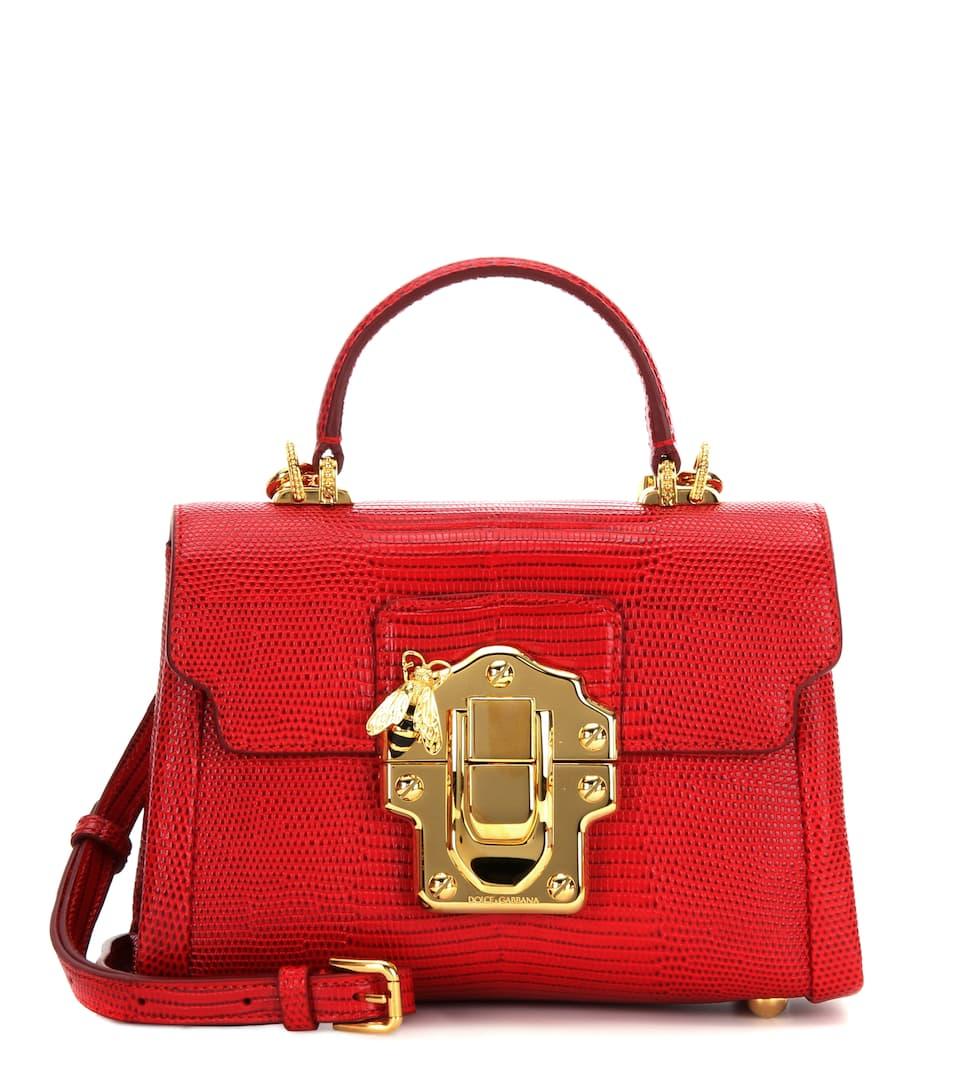 Super Promos Lucia 미니 레더 크로스백 - Dolce & Gabbana Visiter Le Nouveau Prix Pas Cher Vente À La Mode Magasin De Vente En Ligne s5Weymoft