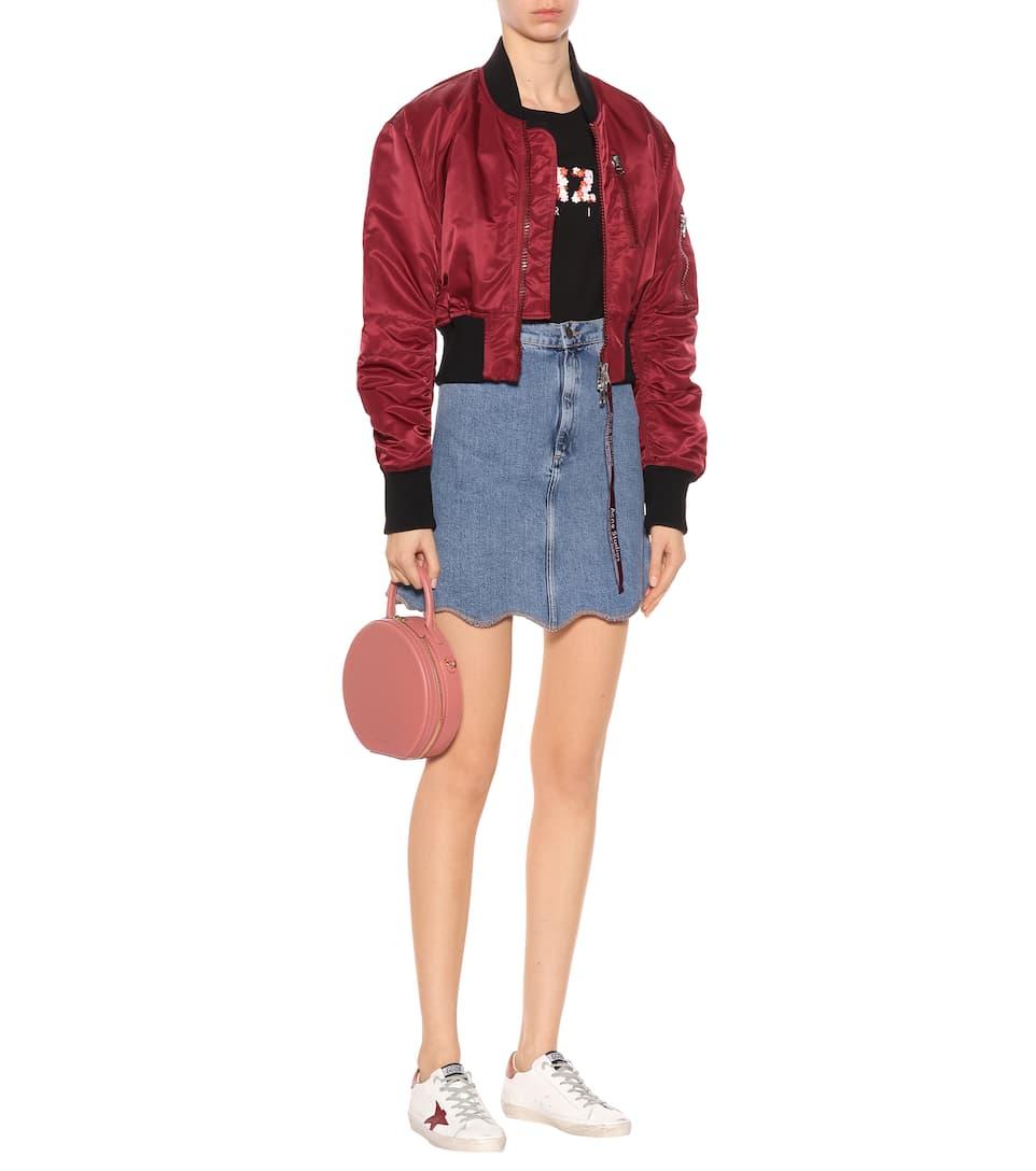 Günstig Kaufen Schnelle Lieferung Auslass Finish M.i.h Jeans Jeansrock mit Wellenkanten KoX6VYb5Oy