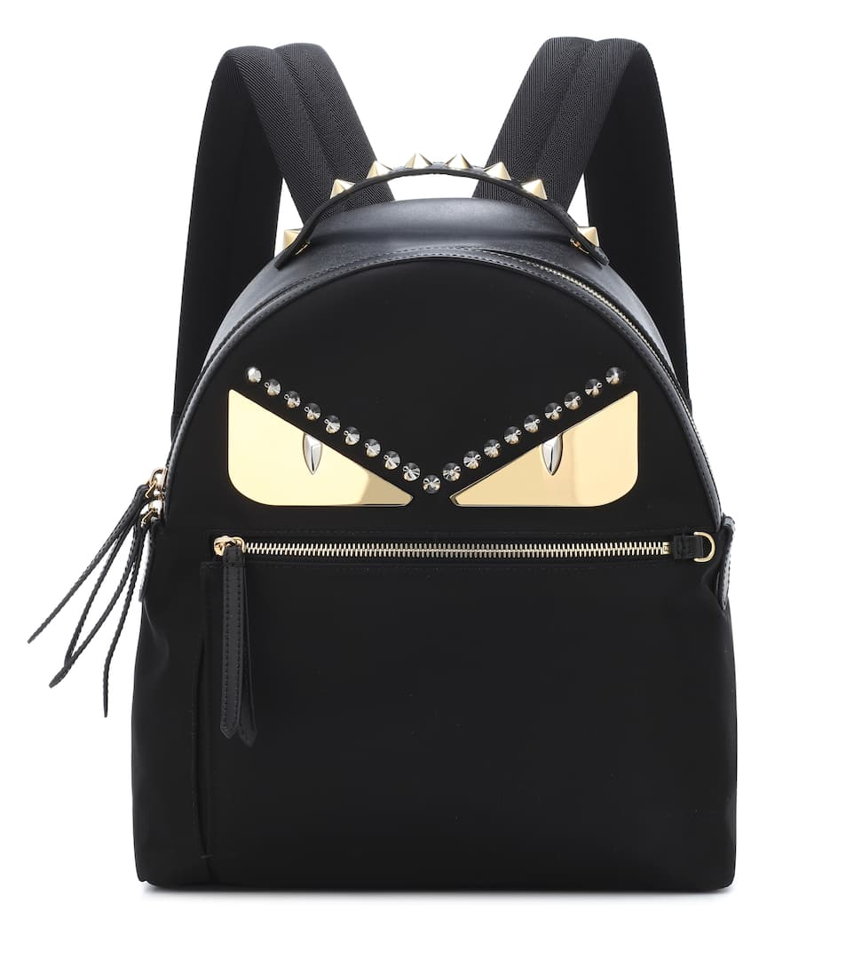 3284412d88eb Embellished Leather Backpack - Fendi