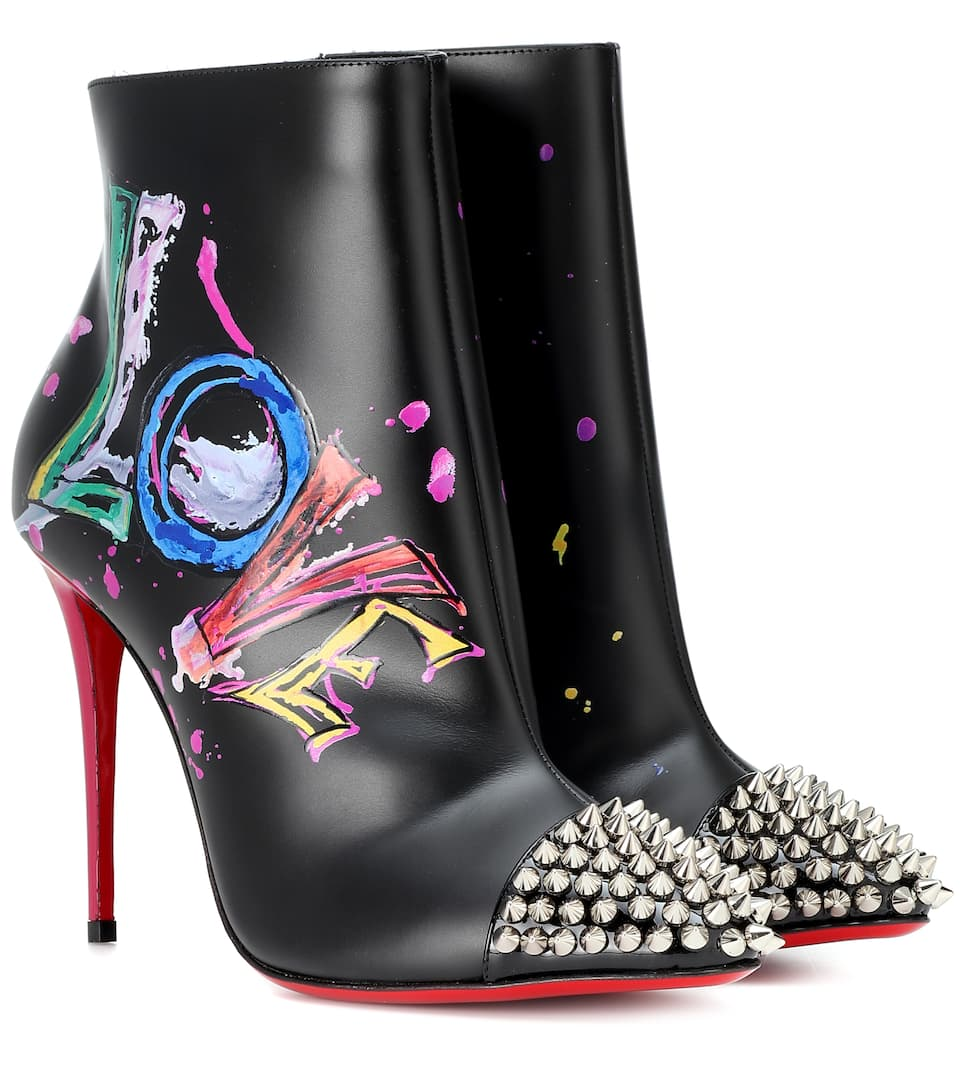 0f9ab9dc4b12 Love Is A Boot 100 Ankle Boots - Christian Louboutin