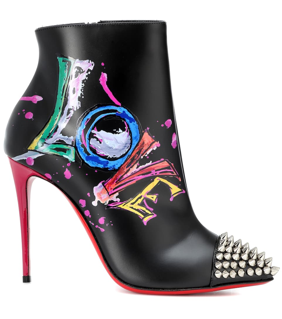 Is 100 nrnbsp;p00340888 Love Boots Boot Christian A LouboutinArt Ankle BeWorxCd