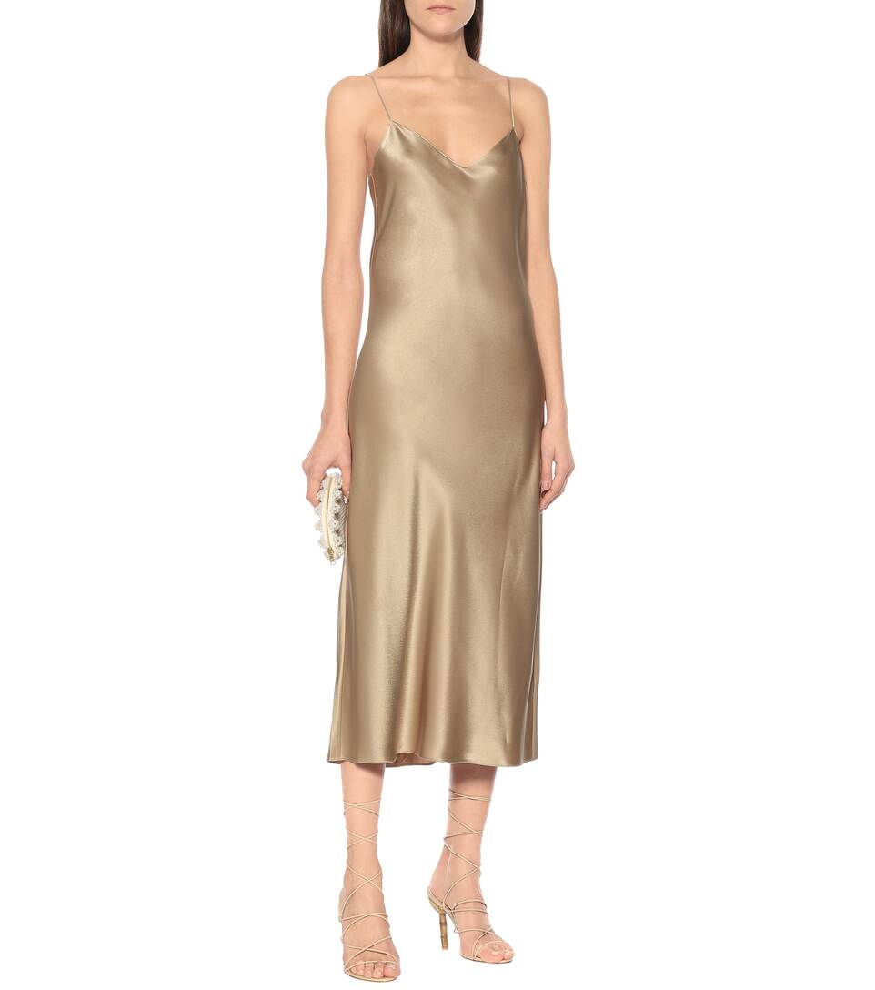 Polo Ralph Lauren - Satin slip dress