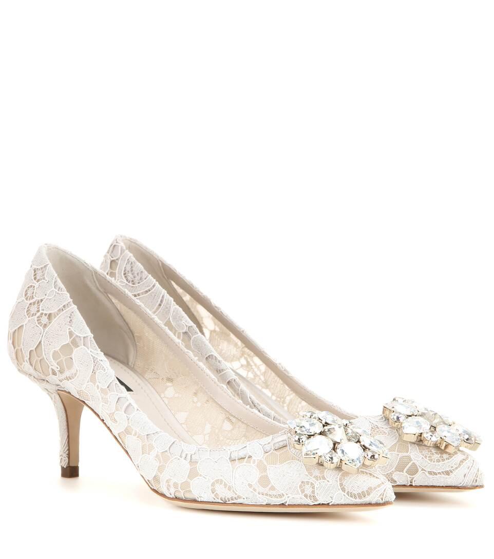 Dolce & Gabbana Verzierte Pumps Bellucci aus Spitze