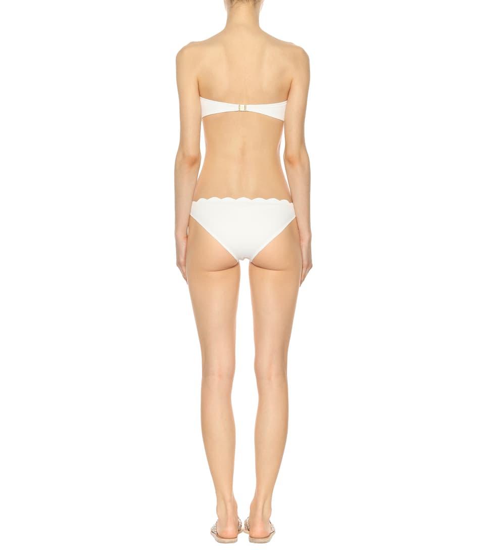 Marysia Bandeau-Bikini-Oberteil Santa Monica Rabatt Visum Zahlung Wie Viel Verkauf Ausgezeichnet Günstig Kaufen bYSwq