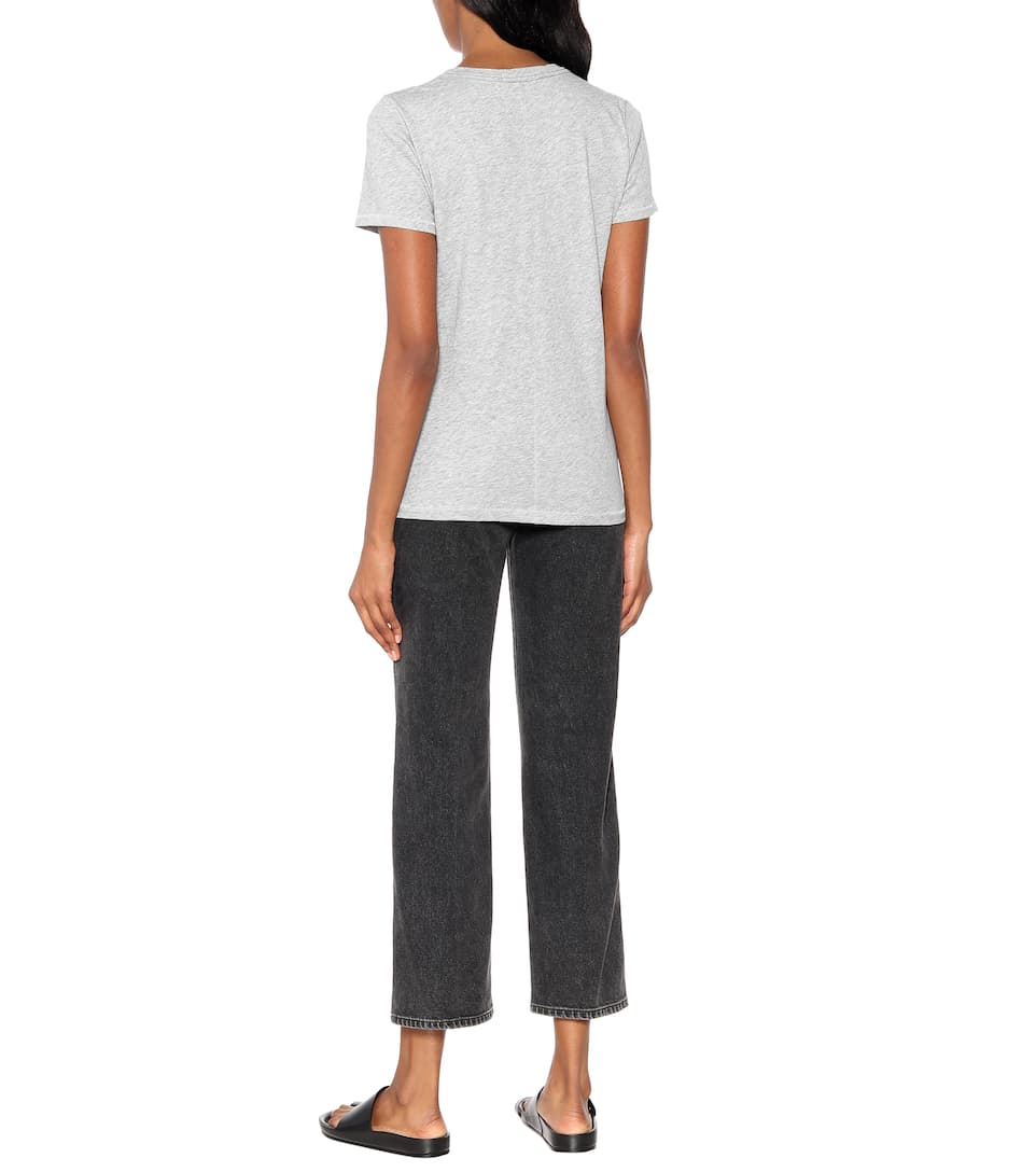 Rag & Bone T-Shirt The Vee aus Baumwolle