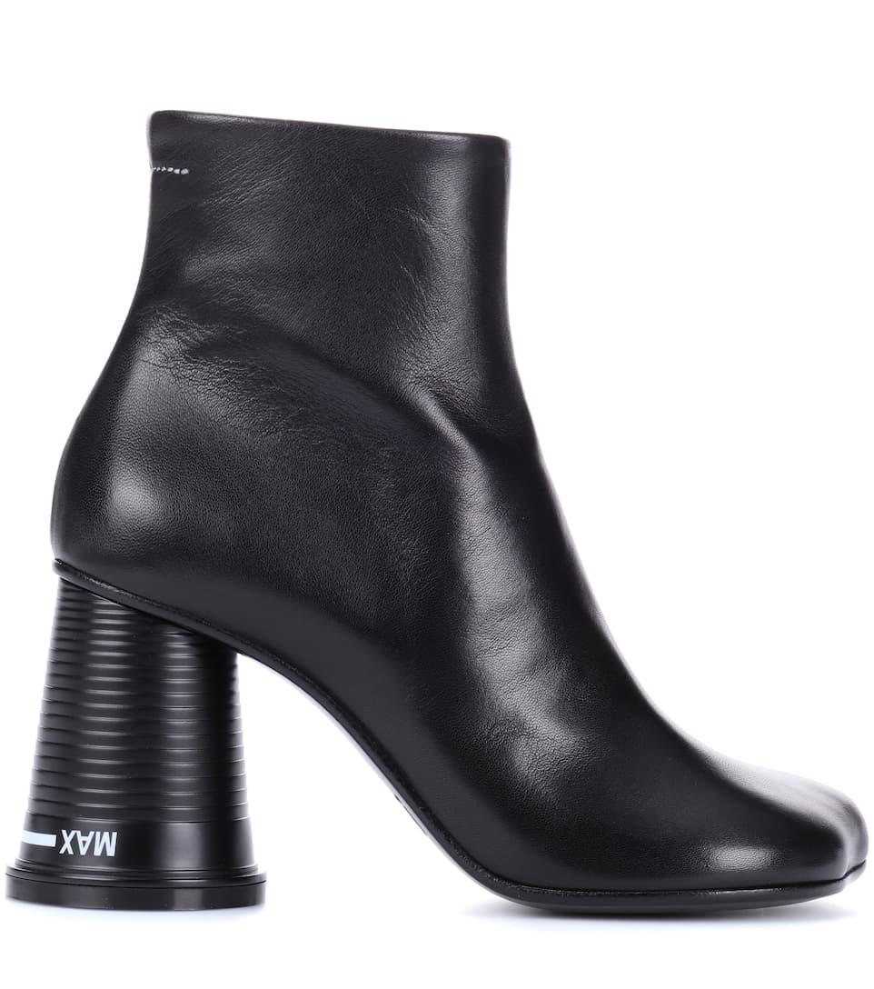 MM6 Maison Margiela Ankle Boots aus Leder