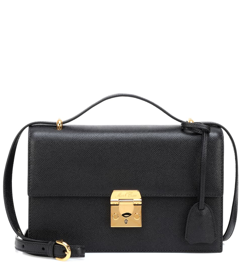 Downtown Leather Shoulder Bag by Mark Cross
