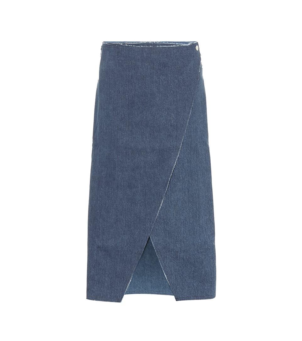 Mackie Denim Skirt by Simon Miller