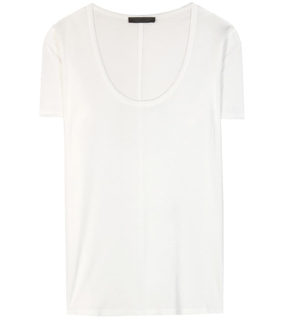 The Row T-Shirt Stilton aus Jersey