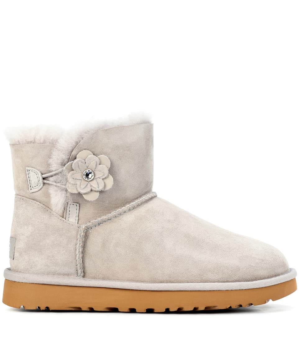 UGG Mini Bailey Petal suede boots Free Shipping Professional yh7iMzG8na