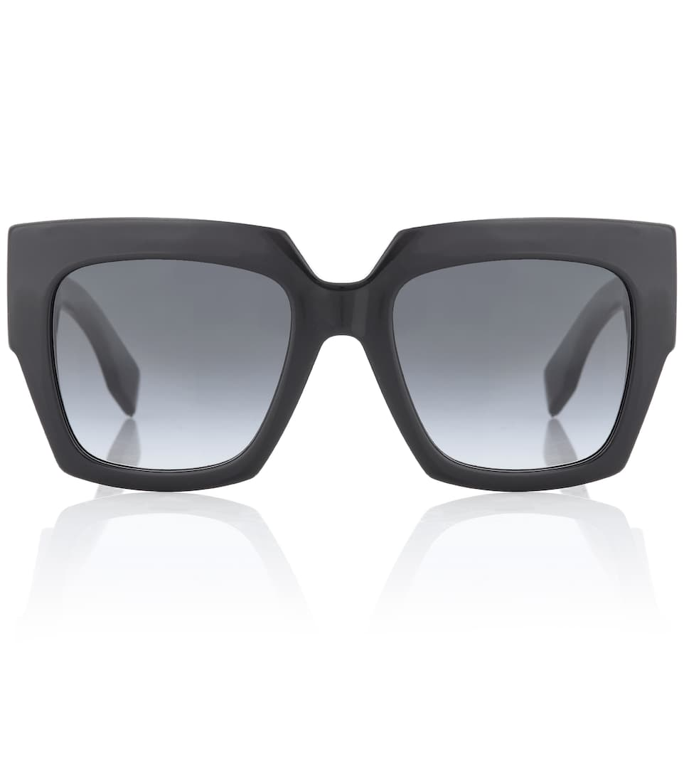 Facets Oversized Square Sunglasses by Fendi