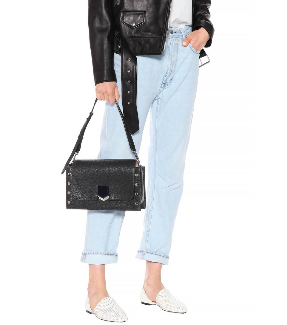 Jeu Footlocker Parcourir Pas Cher Lockett Leather Shoulder Bag - Jimmy Choo Boutique En Ligne De La France mZSGZor