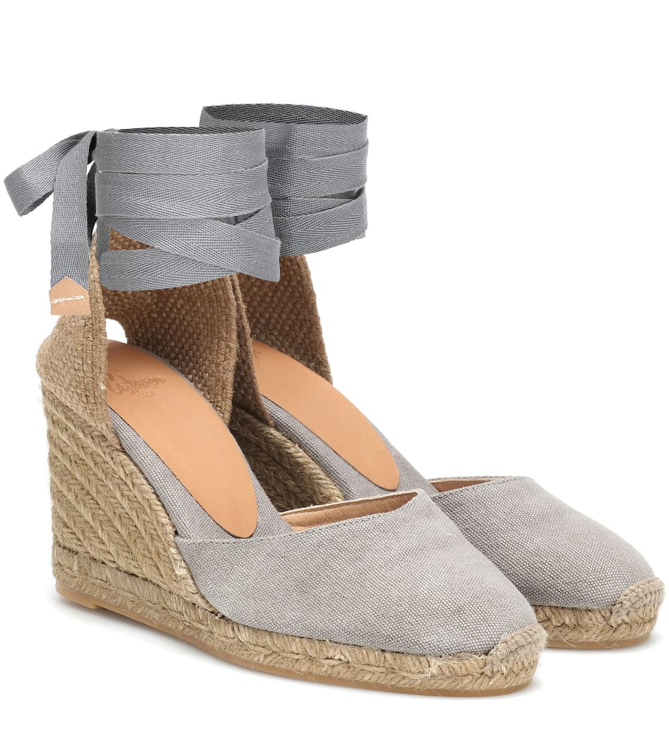 a3b7dd761a1 Carina canvas wedge espadrilles