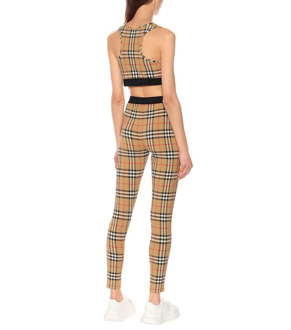Burberry - Check leggings